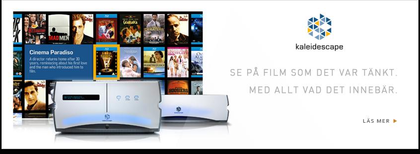 Digital Interiör - Kaleidescape Mediasystem